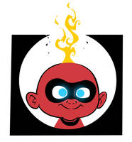 The Incredibles - Jack-Jack by riddsorensen