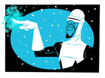 The Incredibles - Frozone by riddsorensen
