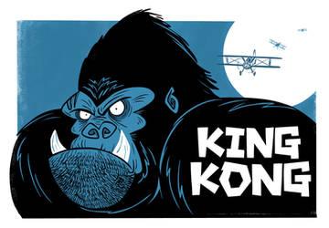KING KONG by riddsorensen
