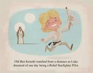 Young Luke Skywalker