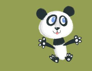 Panda by riddsorensen
