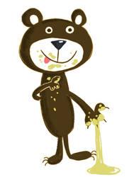 Honey Bear by riddsorensen