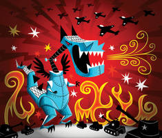 Mecha Fury by riddsorensen