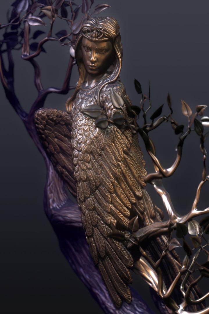 sculpture design by Crashmgn