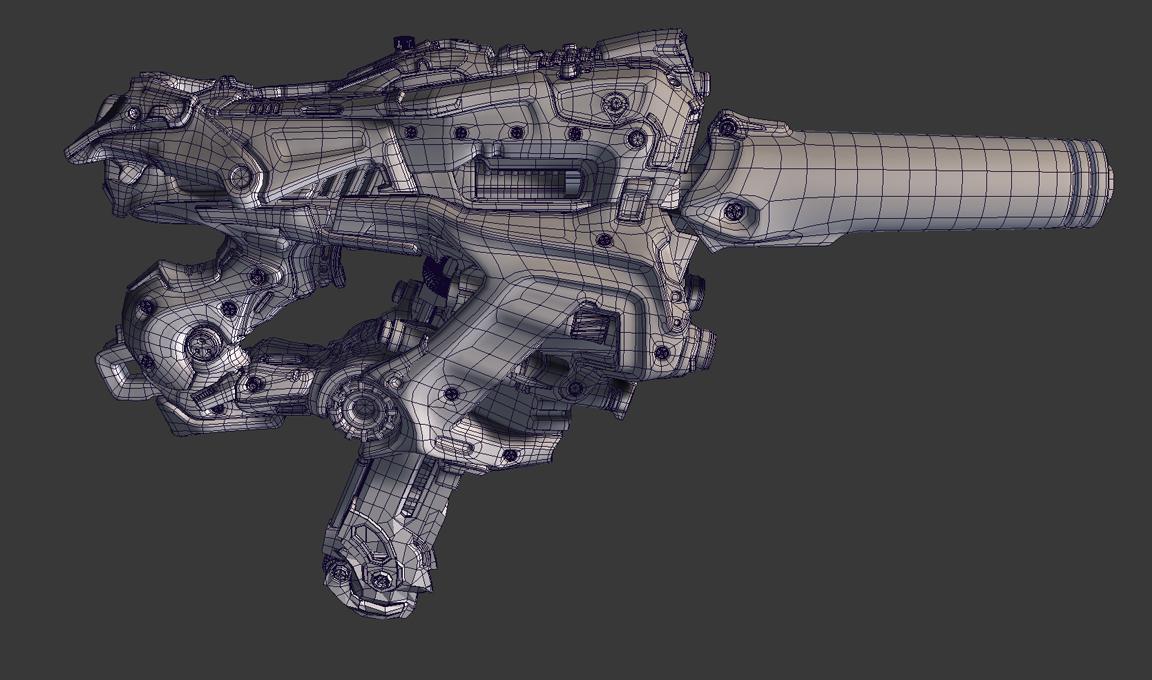 Handgunwire by Crashmgn