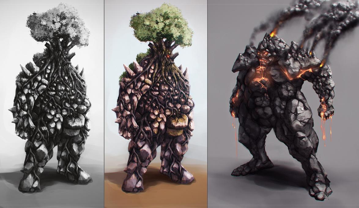 elementals by Crashmgn