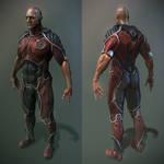 hi-tech suit