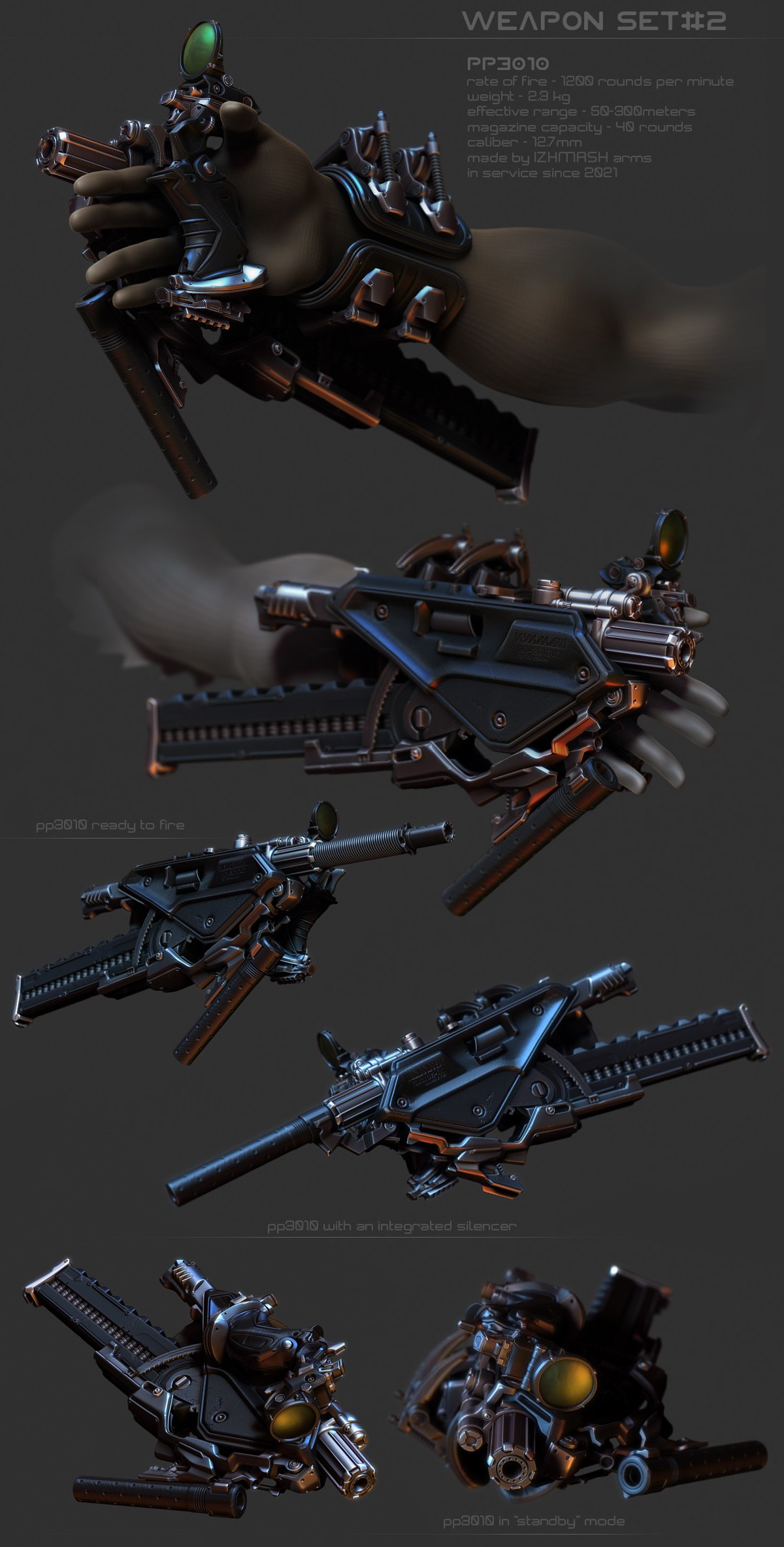 weapon set 2 by Crashmgn