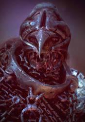medieval mummy head by Crashmgn