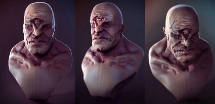 Cyclops bust