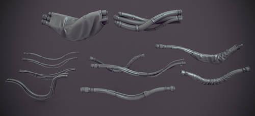 Cables kit bash by Crashmgn