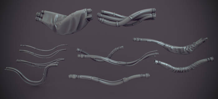 Cables kit bash