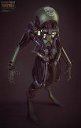 tadpole droid by Crashmgn