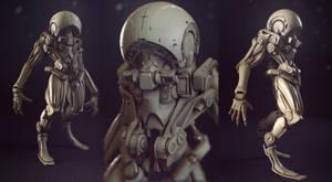 tadpole clay by Crashmgn