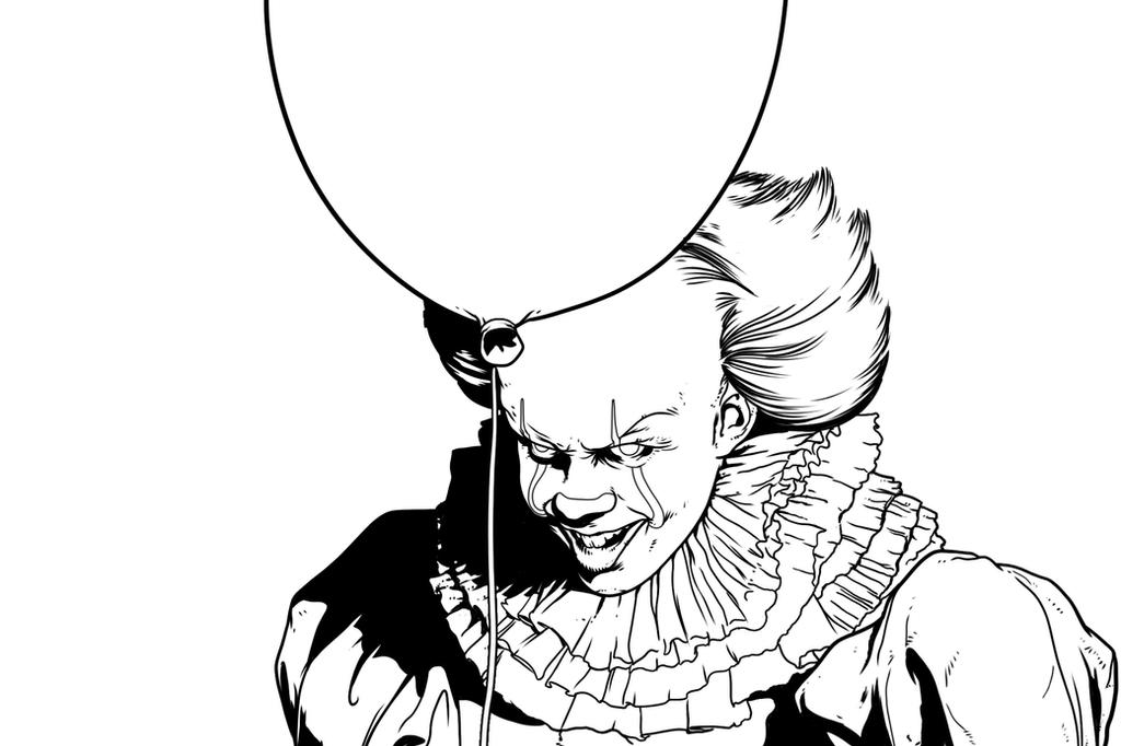 PennyWise Fanart by TFGuillen on DeviantArt