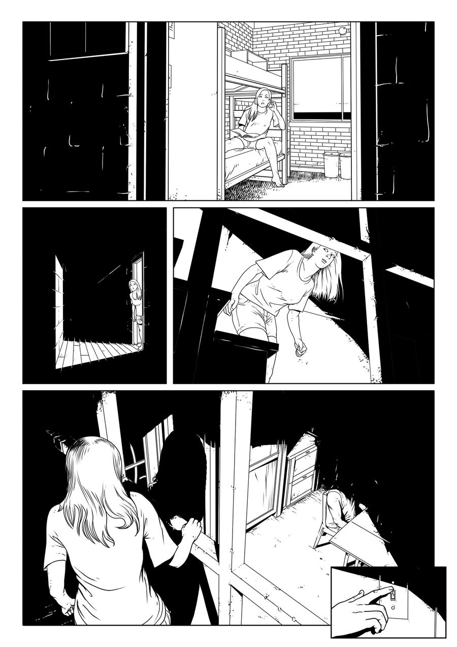 Dead Santa Special Christmas comic by TFGuillen