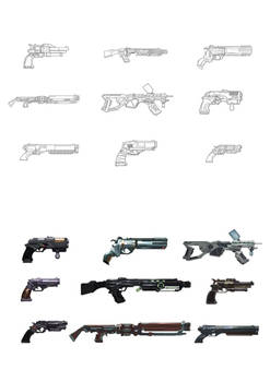 Weapon Design - Videogame Project