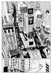 Carriers - Comic written by Ben Ferrari