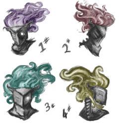 Hair colours by Quahor