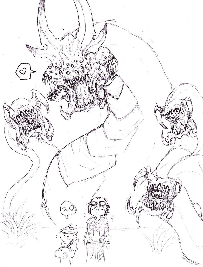 Baron sketches by DestinyScythe