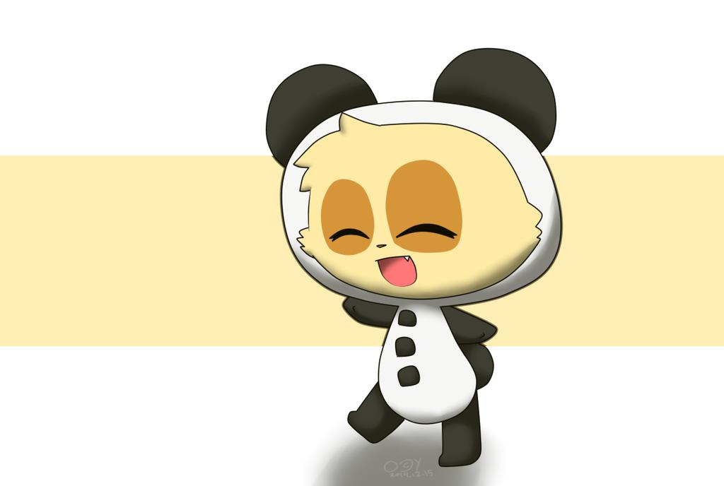 Panda Teemo by ChristineThePikachu