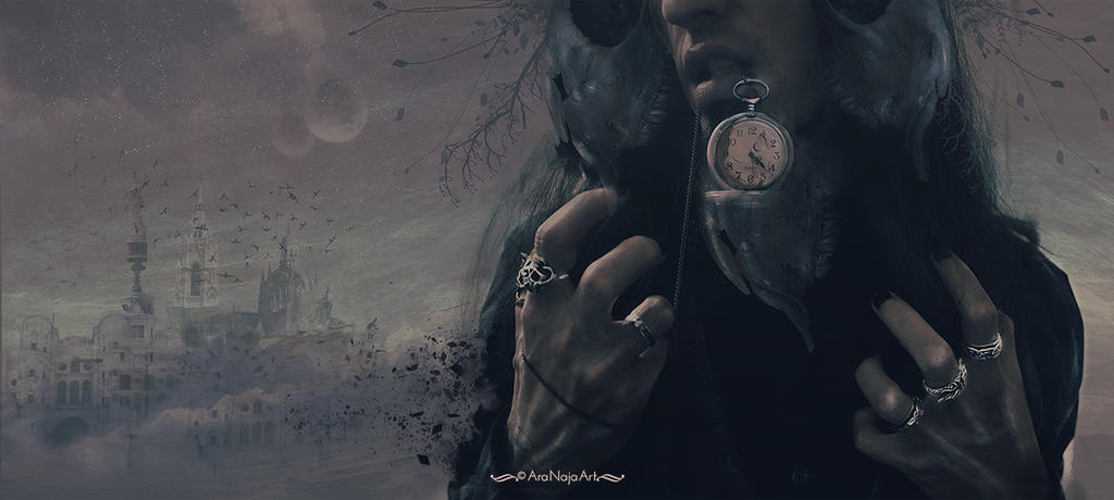 Time will destroy everything. by AraNaja