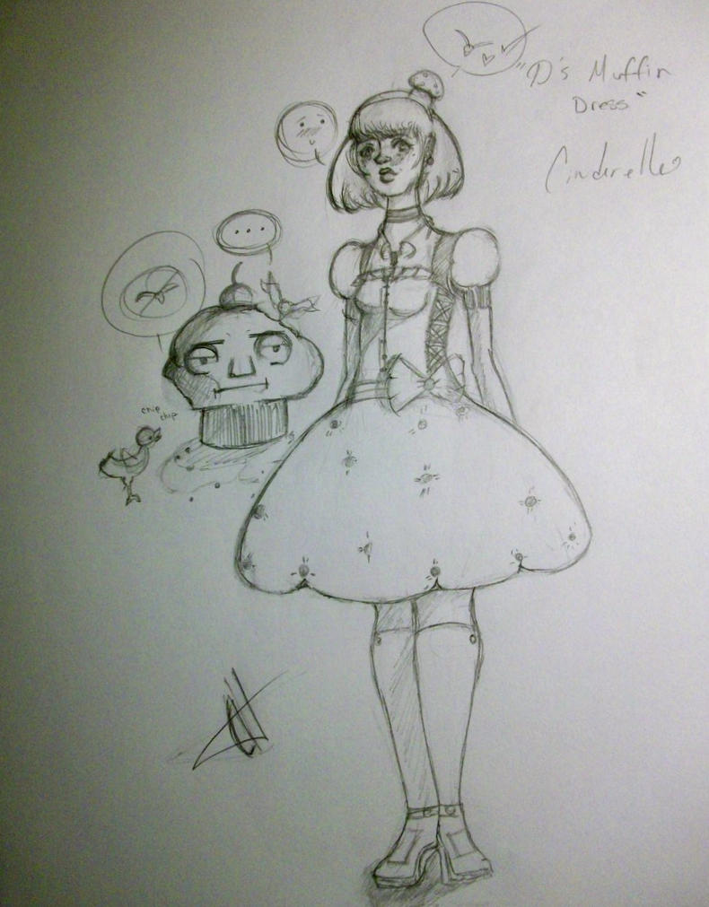 D's muffin dress by Somewittyname1994