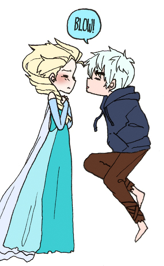Jack Frost Nipping At Your Nose By Airse On Deviantart