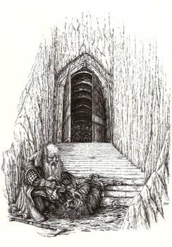 Nar at the gate of Moria