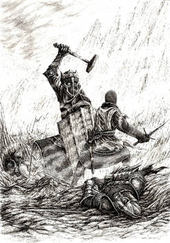 Commission: Isildur and Sauron