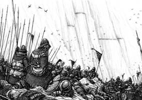 Battle of Nanduhirion, part 3 by Tulikoura