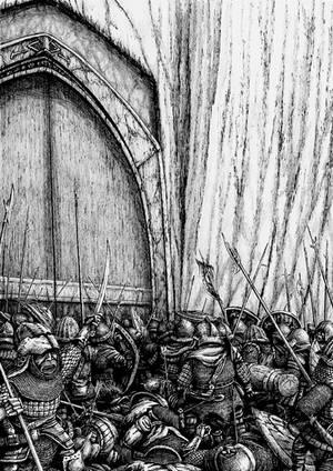 The Siege of Moria by Tulikoura