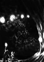 Speedpainting - Forgotten Beast Omethu by Tulikoura