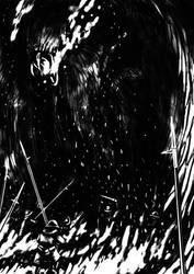 Speedpainting - Forgotten Beast Midil by Tulikoura