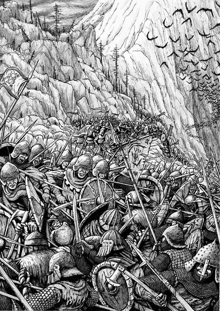 Battle of Five Armies: Elves of Mirkwood by Tulikoura
