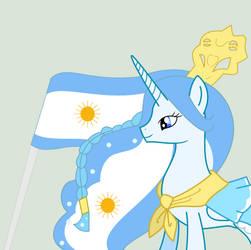 Commission: Princess Argenta by Dawnrex15