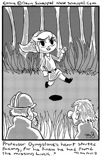'Link' to This comic by scheppel