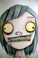 Zipper Sister by UMINGA