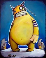 Poppa the Hamster King by UMINGA