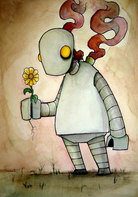 Sad Robot by UMINGA