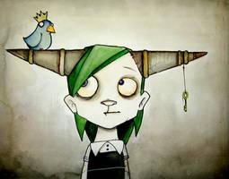 Monster Bird Girl by UMINGA