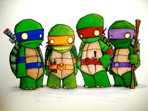 Teenage mutant ninja turtles by uminga on deviantart - Tortue ninja couleur ...
