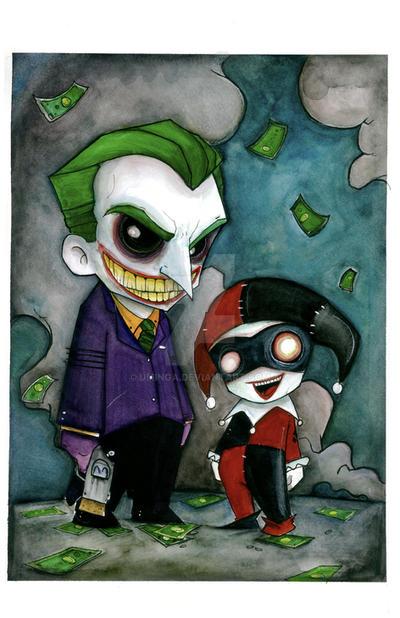 Joker and Harley by UMINGA
