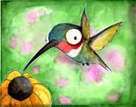 Oscar the Humming Bird by UMINGA