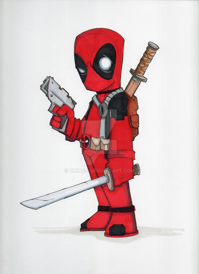 Deadpool by UMINGA