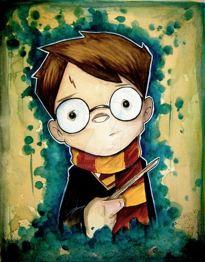 Harry Potter by UMINGA