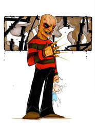 FREDDY: A Nigtmare on Elm St by UMINGA