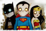 Batman, Superman,Wonder Woman