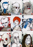 Star Wars Galaxy 5  set 10