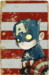 Captain Amercia by UMINGA
